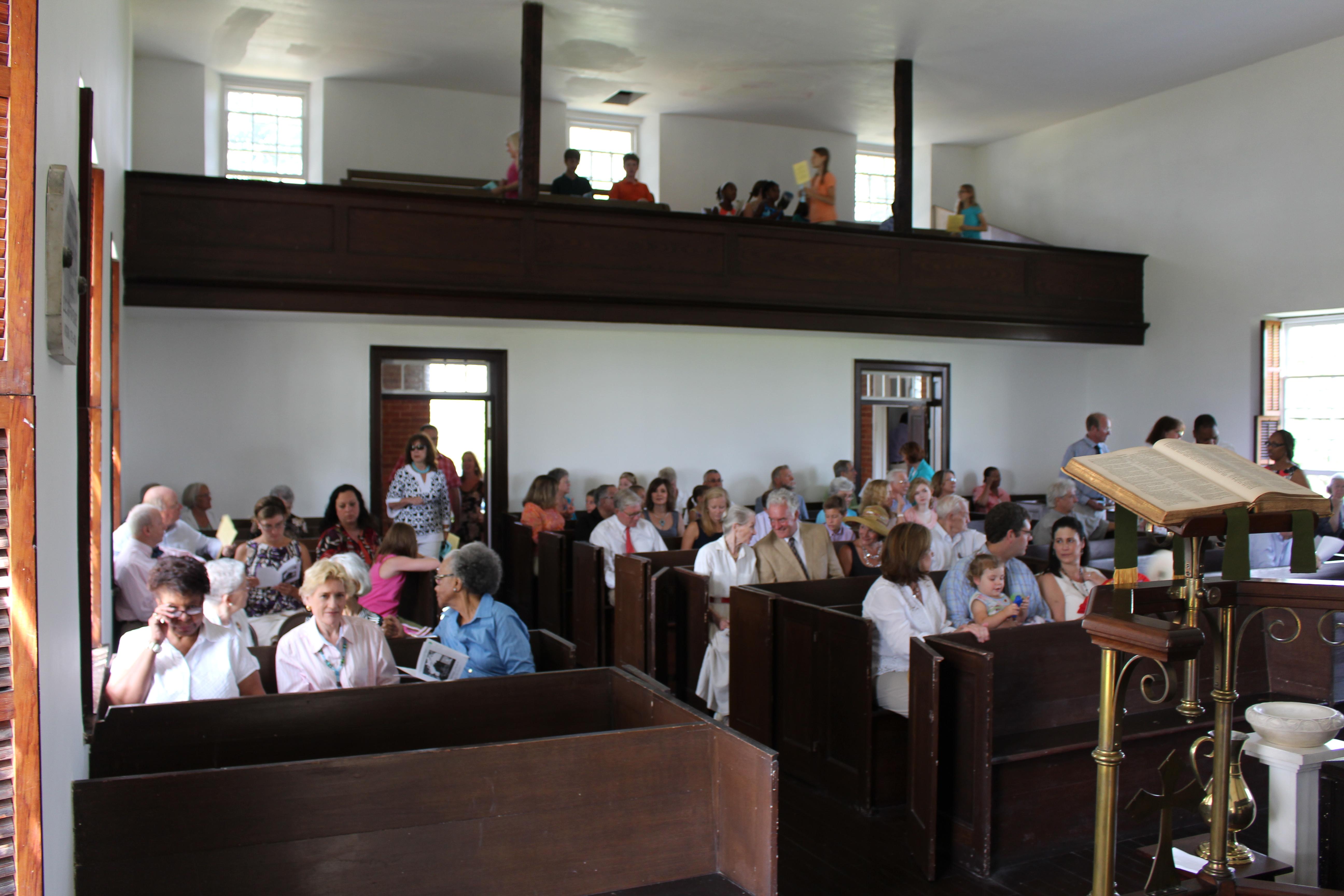 Wickliffe Church Service - Clarke Parish - Berryville, VA